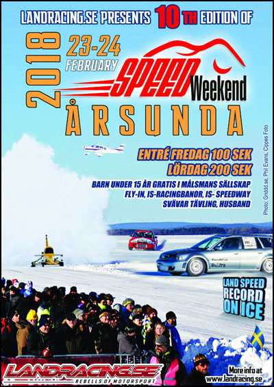 SpeedWeekend on Ice 2018