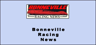 Bonneville Racing news